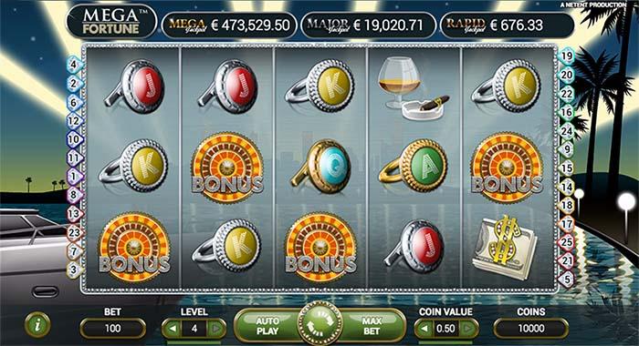 mega fortune 3 bonus wheels